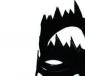 2011新款欧美名品2010 时尚魅惑镂空火焰 凉靴黑色